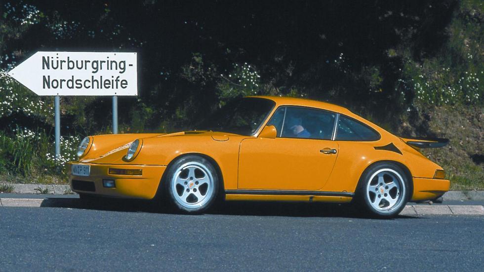 Apodos para coches: Porsche 'canario'