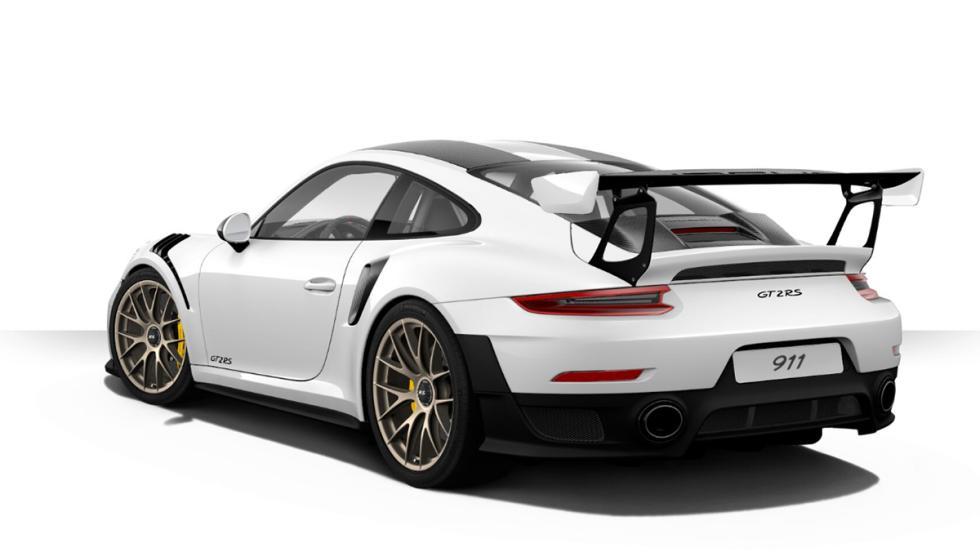 Así es el configurador del Porsche 911 GT2 RS