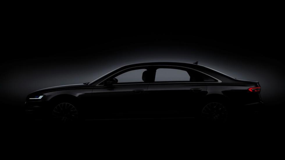 Audi A8 teaser (grupos ópticos)
