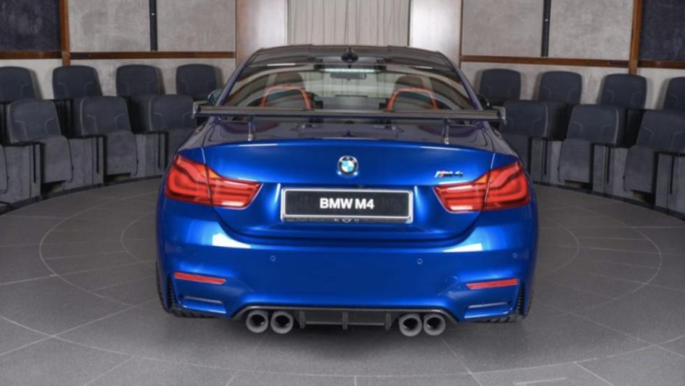 BMW M4 San Marino Blue (V)