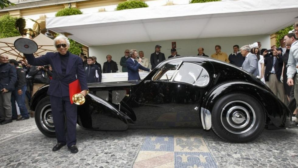 Bugatti Type 57SC Atlantic de 1938, uno de sus coches únicos