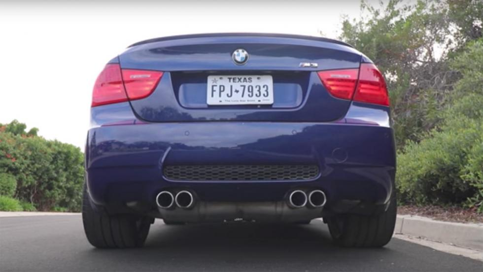 Coches familiares que mejor suenan: BMW M3