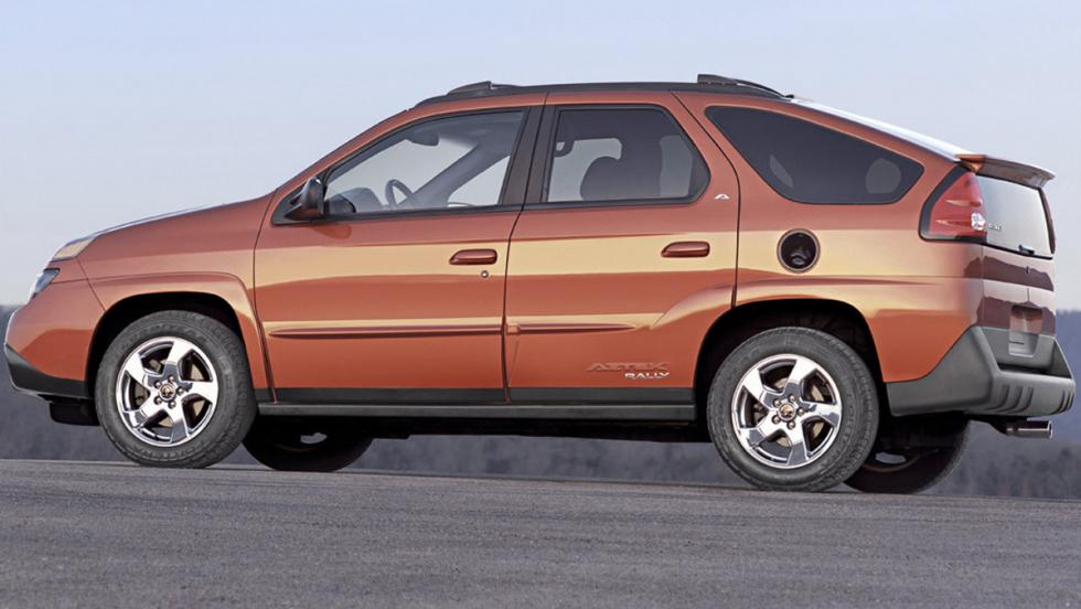 Coches más feos: Pontiac Aztek Rally (II)