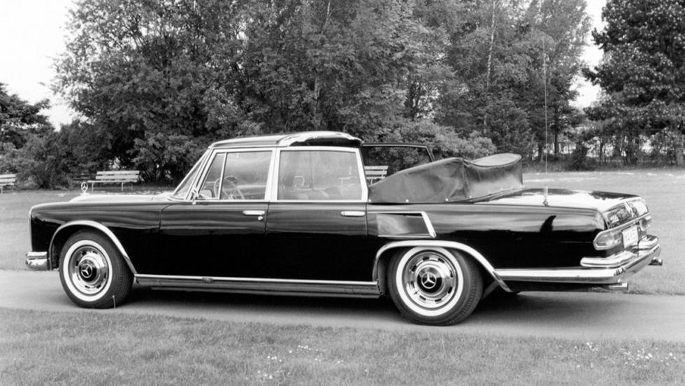 Los coches que nadie conoce de Mercedes - Mercedes-Benz 600 Landaulet