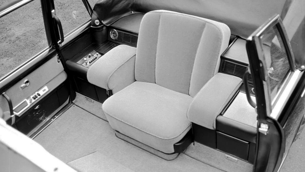 Los coches que nadie conoce de Mercedes - Mercedes-Benz 600 Pullman Landaulet