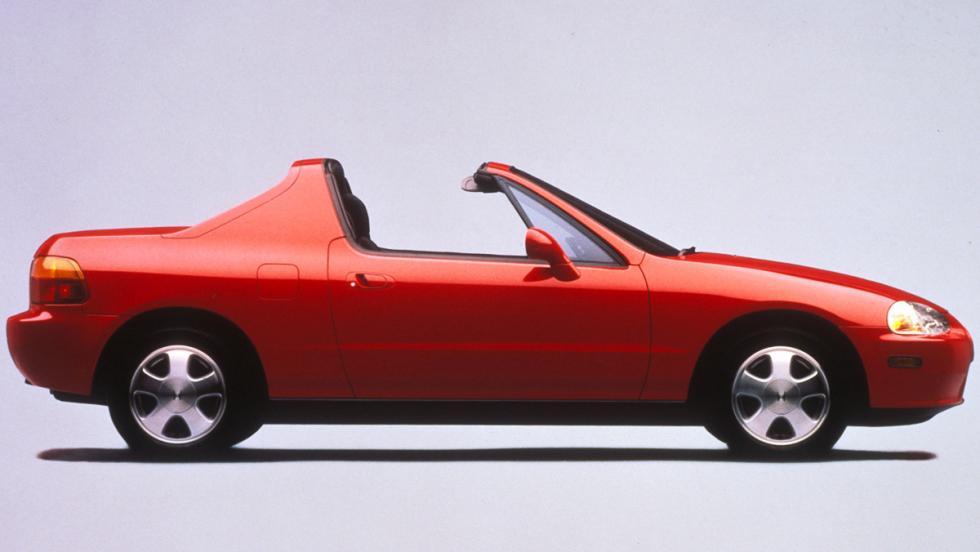Coches que serán clásicos en 2017 - Honda CRX Del Sol