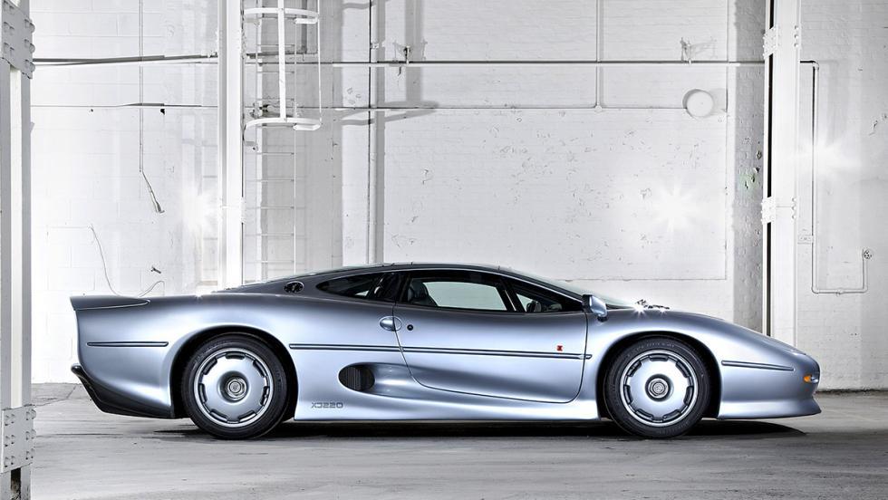 Coches que serán clásicos en 2017 - Jaguar XJ220