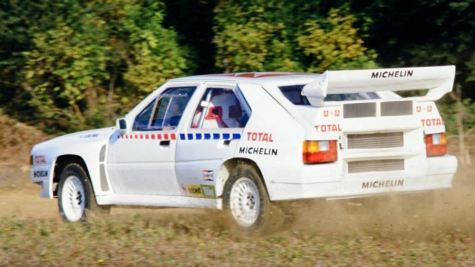 Los coches de rally más brutales de todos los tiempos - Citroën BX 4TC