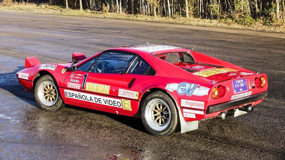 Los coches de rally más brutales de todos los tiempos - Ferrari 308 GTB Grupo B