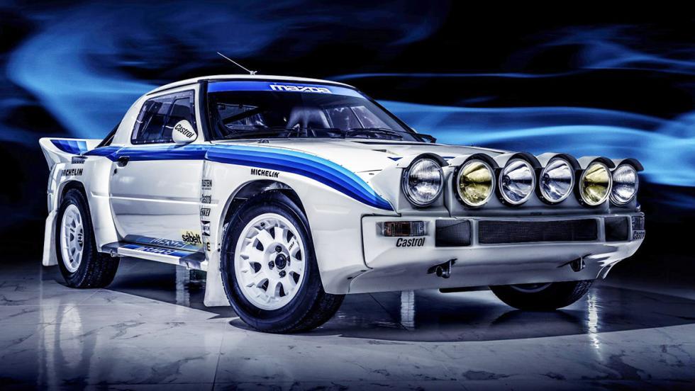 Los coches de rally más brutales de todos los tiempos - Mazda RX-7 Grupo B