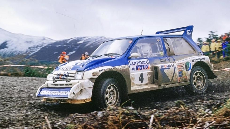 Los coches de rally más brutales de todos los tiempos - MG Metro 6R4