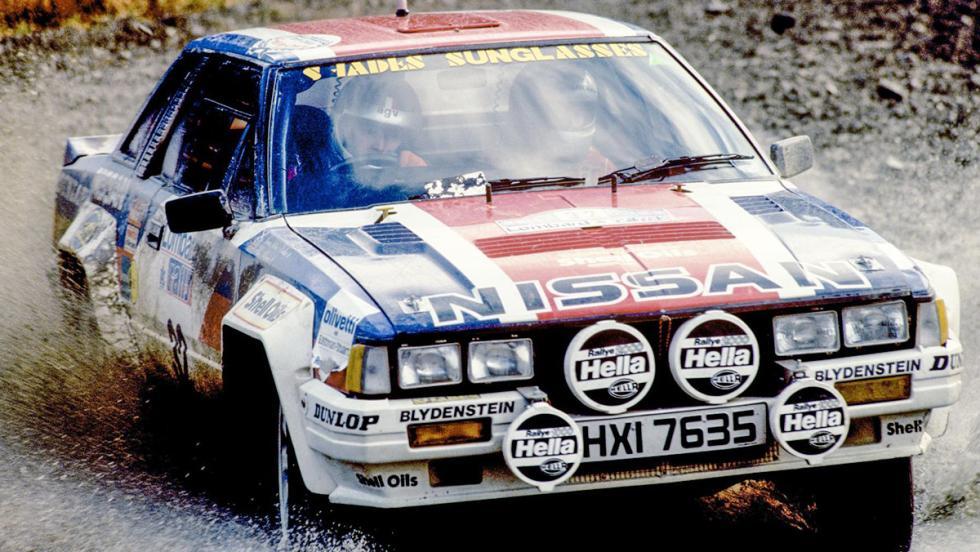Los coches de rally más brutales de todos los tiempos - Nissan 240 RS
