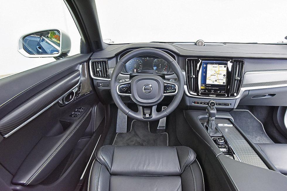 Interior del S90