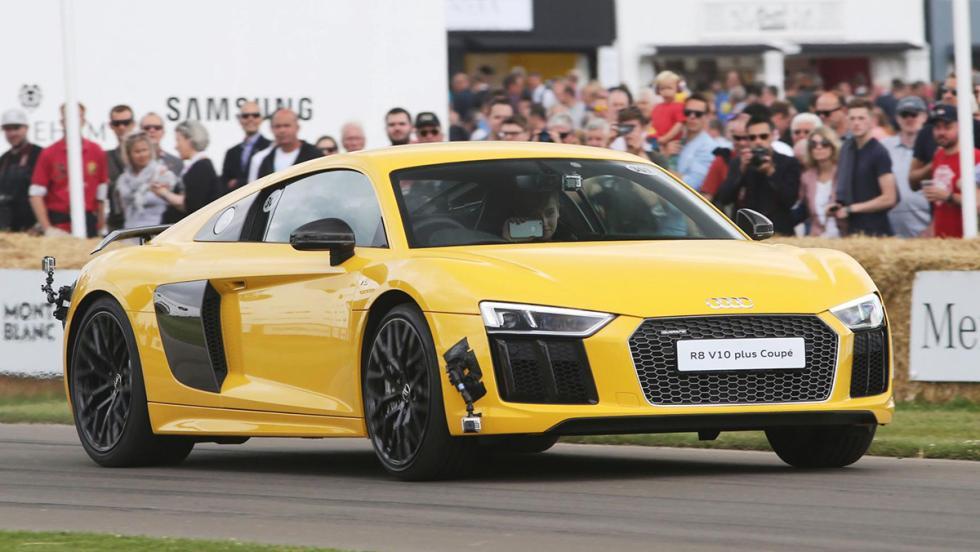Los deportivos más rápidos de Goodwood - Audi R8 - 51 s