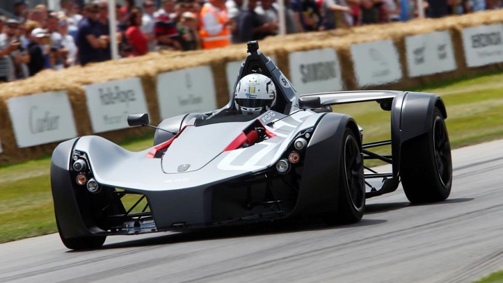 Los deportivos más rápidos de Goodwood - BAC Mono - 49,54 s