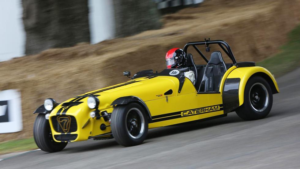 Los deportivos más rápidos de Goodwood - Caterham Seven 620R - 50,01 s