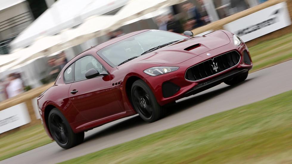 Los deportivos más rápidos de Goodwood - Maserati GranTurismo - 58,42 s