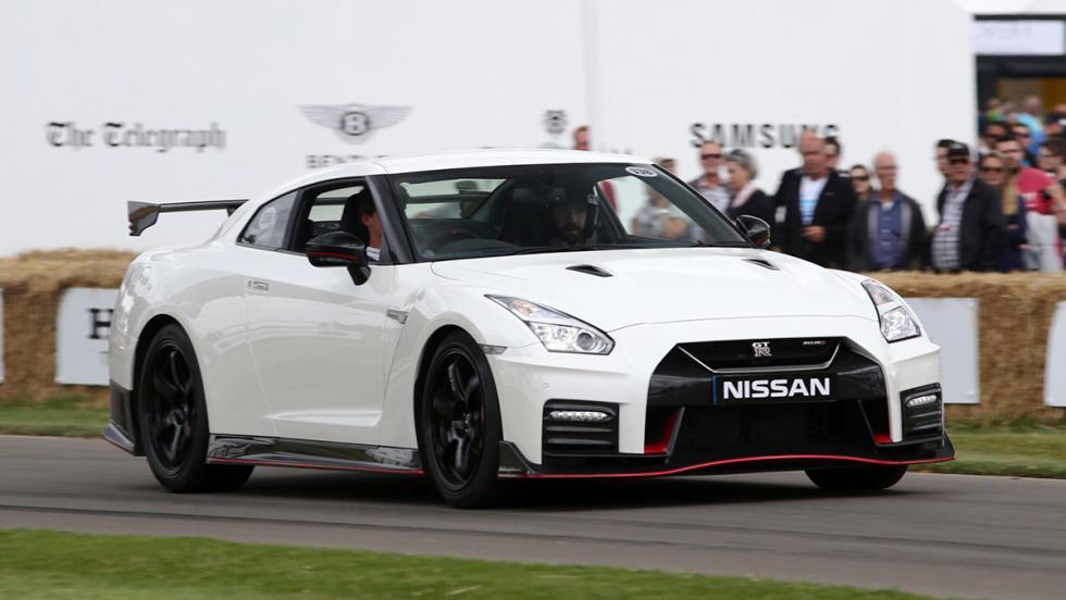 Los deportivos más rápidos de Goodwood - Nissan GT-R - 52,68 s