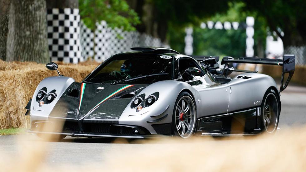 Los deportivos más rápidos de Goodwood - Pagani Zonda 760RS - 57,04 s