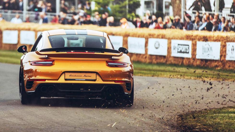 Los deportivos más rápidos de Goodwood - Porsche 911 Turbo S Exclusive Series - 53,31 s