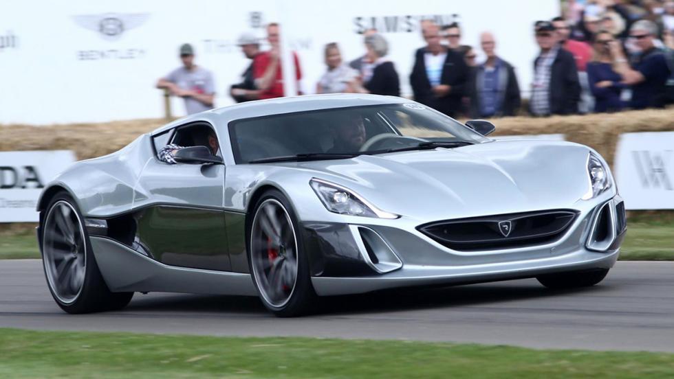 Los deportivos más rápidos de Goodwood - Rimac Concept S - 54,89 s