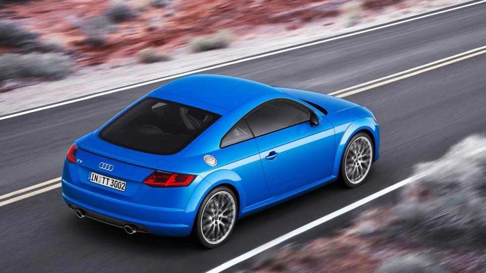 Los deportivos más vendidos en junio en España - Audi TT - 12 unidades