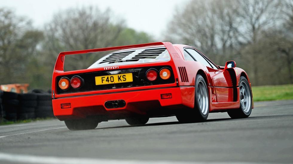 Ferrari 288 GTO F40 F50 Enzo prueba superdeportivo hiperdeportivo