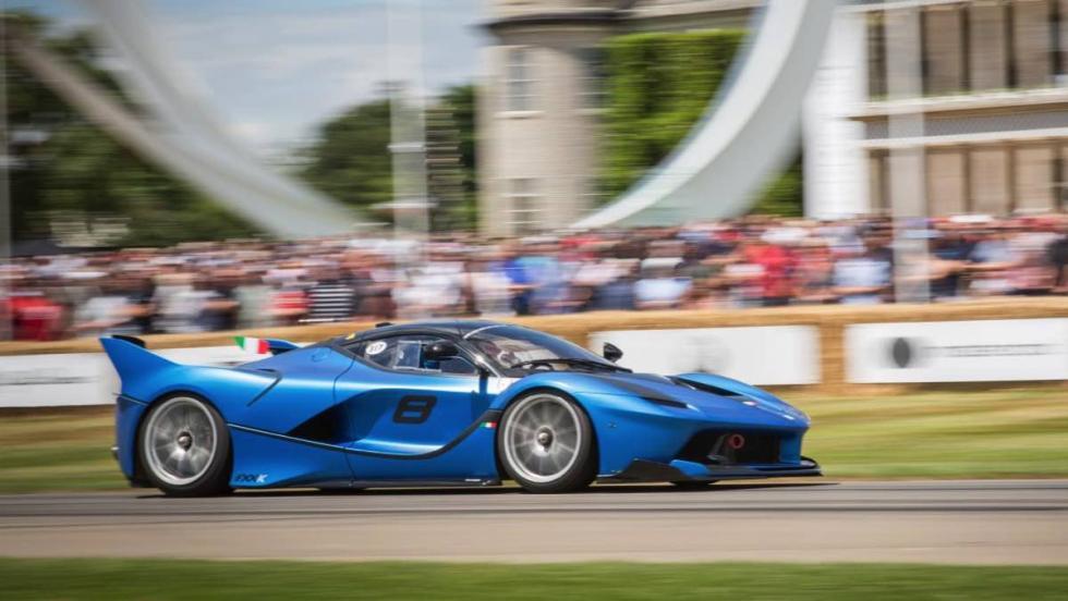 Ferrari en Goodwood