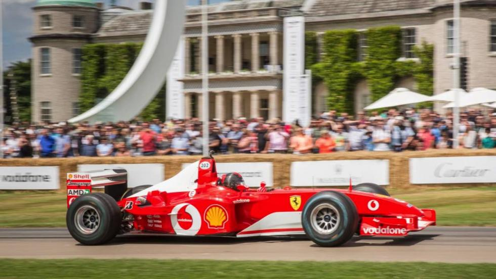 Ferrari en Goodwood