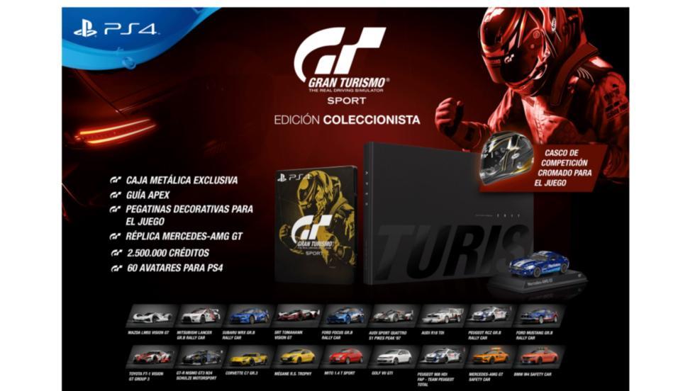 Gran Turismo Sport Coleccionista