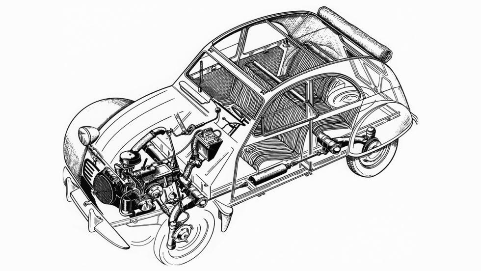 La historia del Citroën 2CV - ¿Hace cuánto que no te haces una radiografía?