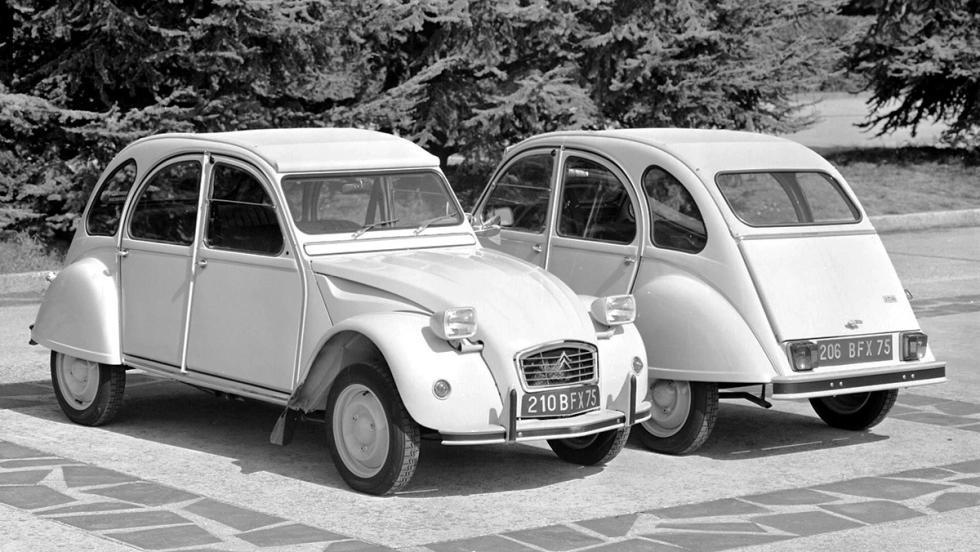 La historia del Citroën 2CV - 2CV6