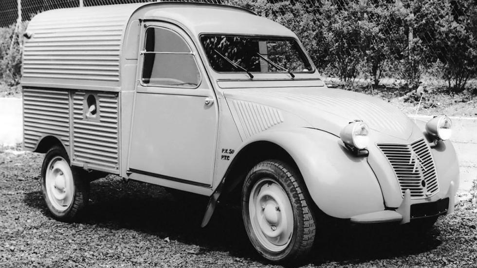 La historia del Citroën 2CV - ¡Y también en versión furgoneta!