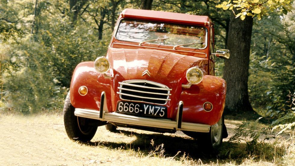 La historia del Citroën 2CV