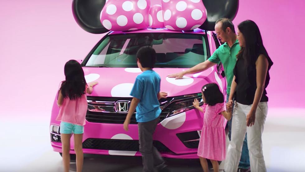 Honda ha creado un coche dedicado a Minnie Mouse