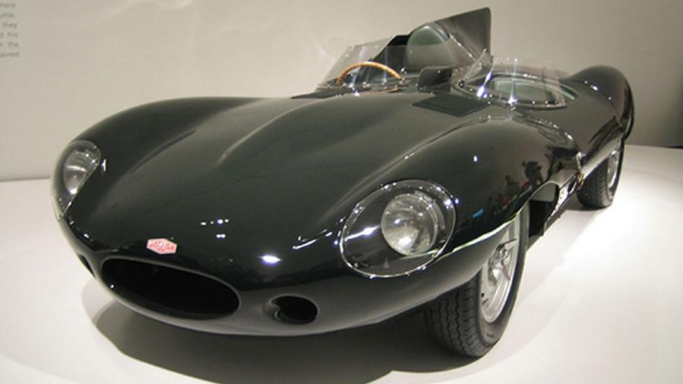 El Jaguar D-Type del ´55 de Mr. Lauren