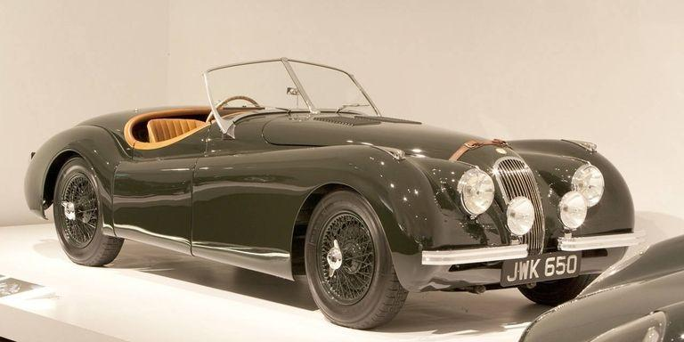 Jaguar XK120 Alloy Roadster del ´50