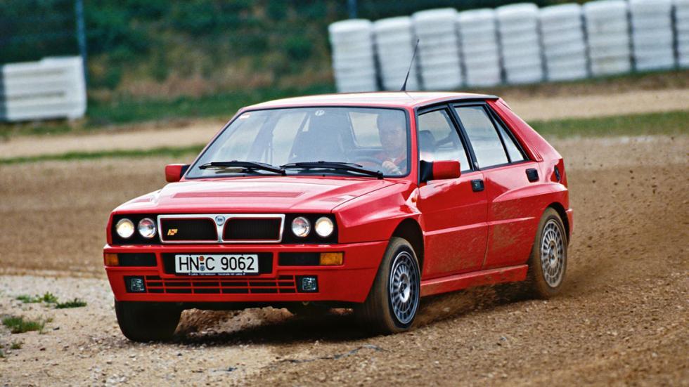Lancia Delta HF Integrale Evo deportivo