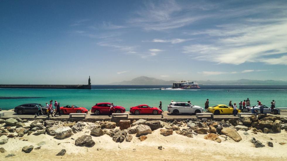 Llegada al Cabo de Tarifa