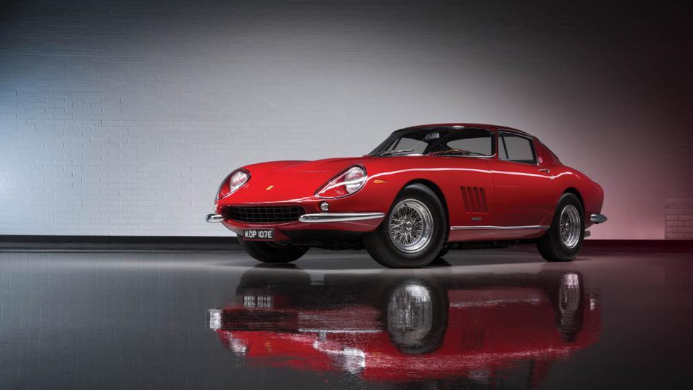 Lote de Ferrari a subasta (III)
