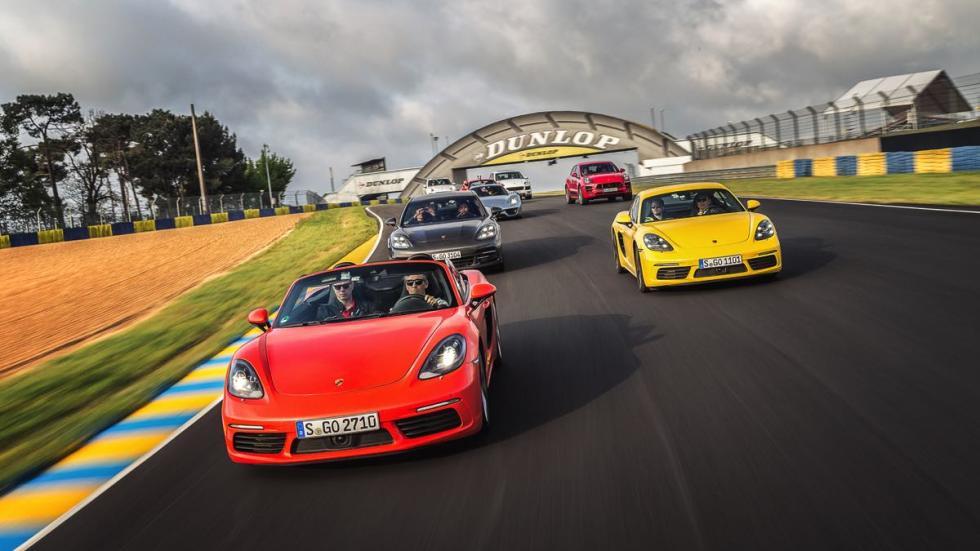 En Le Mans con toda la gama de Porsche a nuestra disposición