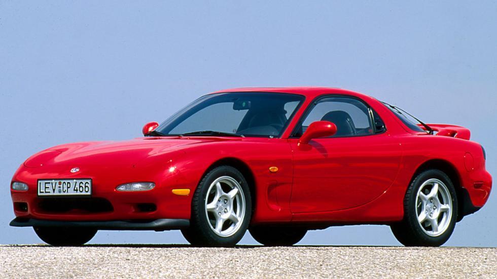 Mazda RX-7 motor wankel deportivo 1992