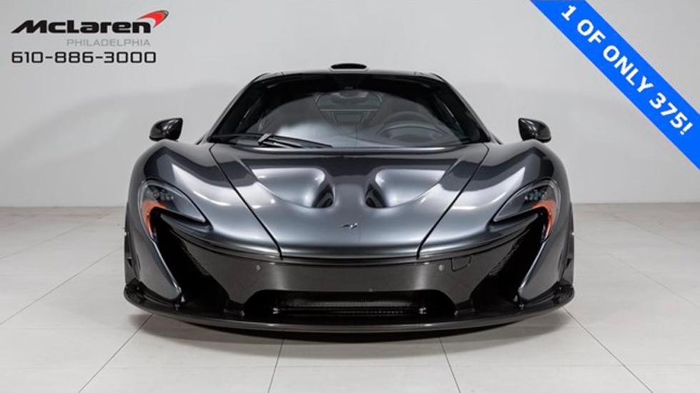 McLaren P1 a la venta gris hiperdeportivo