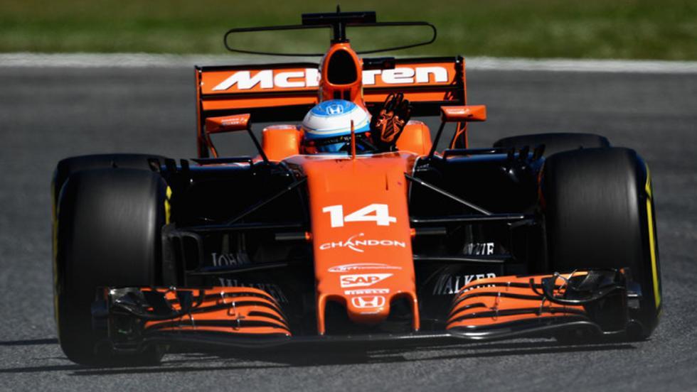 McLata MCL32 de Fernando Alonso