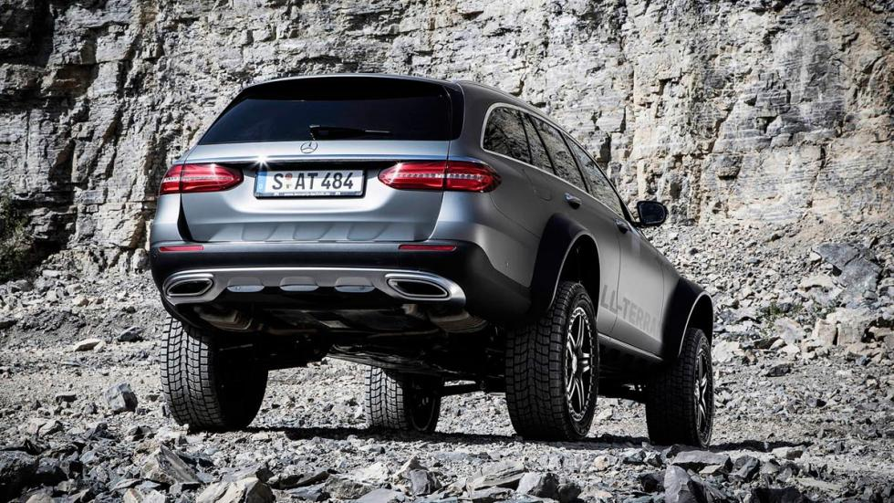 Mercedes Clase E All-Terrain 4x4 todo terreno off-road