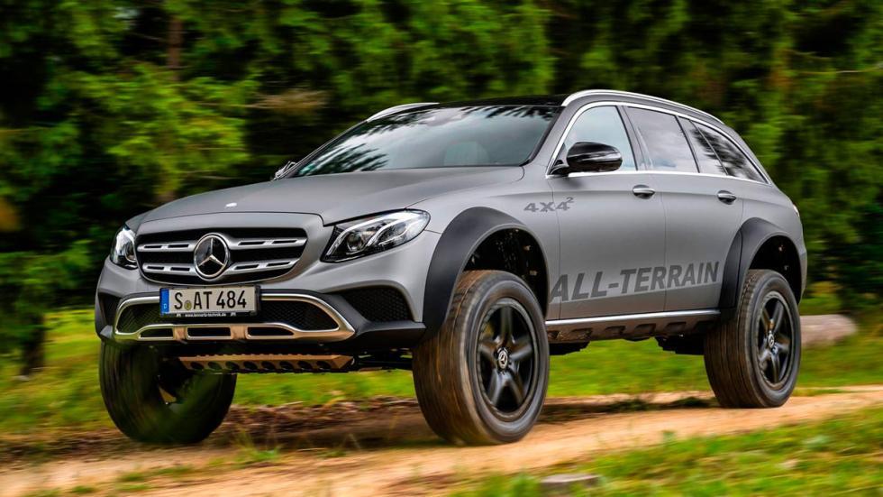 Mercedes Clase E All-Terrain 4x4 todo terreno off-road