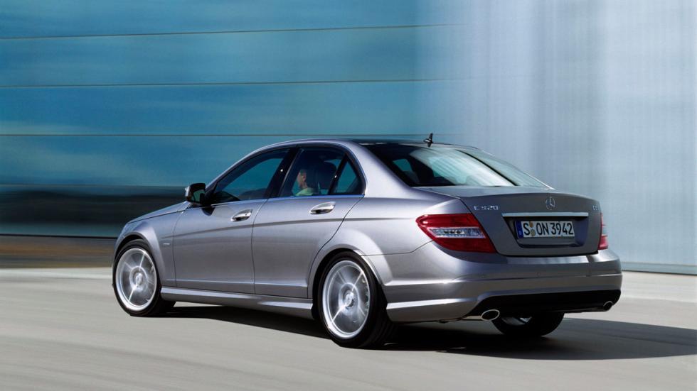 Mercedes Clase C segunda mano sedán