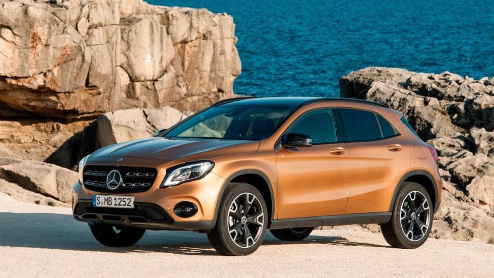 Mercedes GLA 2017 SUV compacto lujo