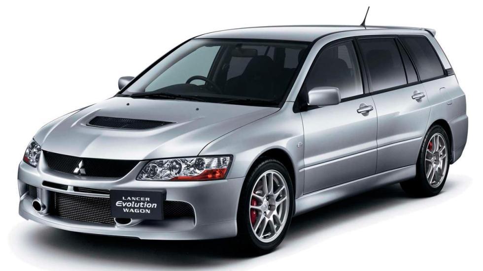 Mitsubishi Lancer Evolution Wagon familiares deportivos