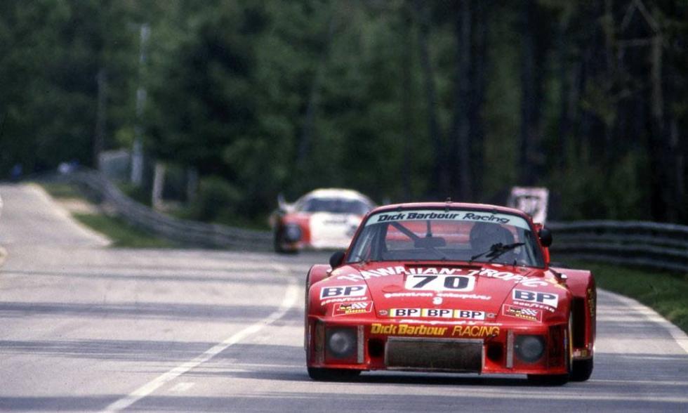 Newman y su Porsche 935 en Le Mans 1979